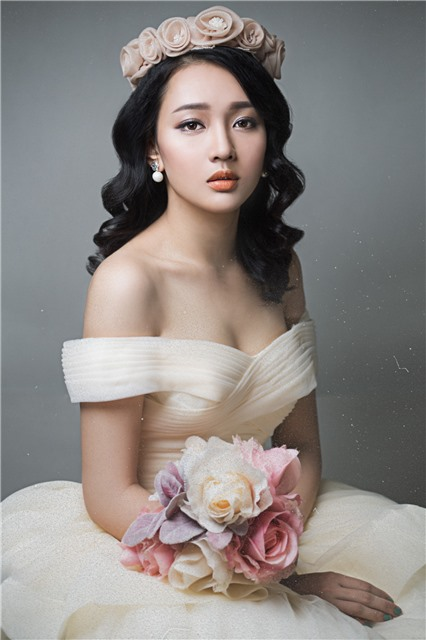 Wedding makeup style 2015 - Quach Anh makeup store